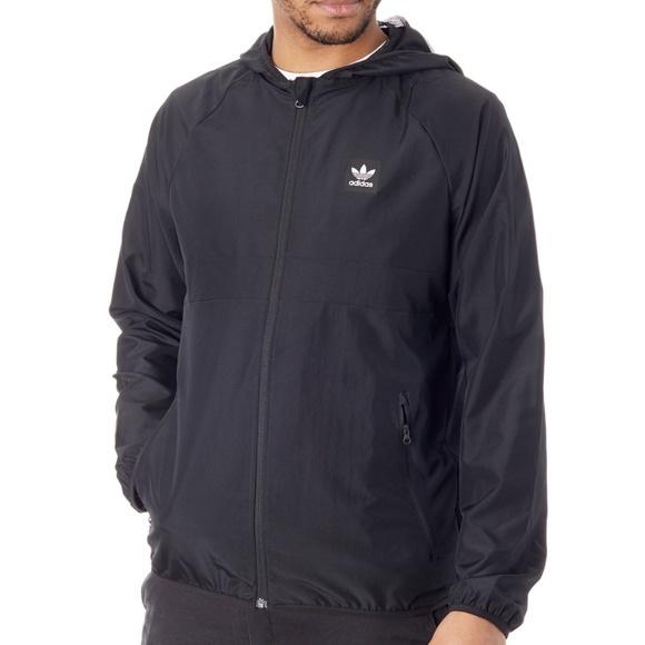 5bbf23f30 adidas Jackets & Coats   Originals Blackbird Packable Windbreaker ...